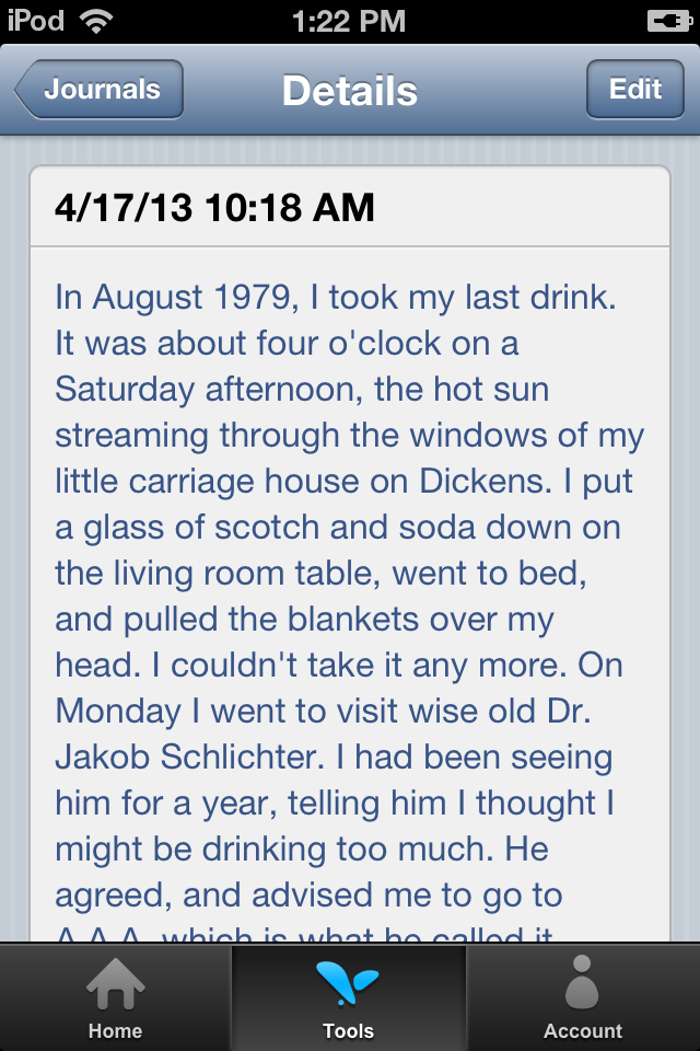 Journal Mobile Preview